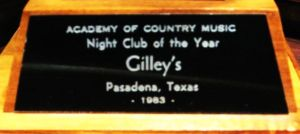 Gilley's 1983 Club of the Year