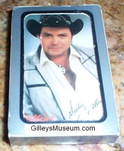 Gilley's playing cards.
