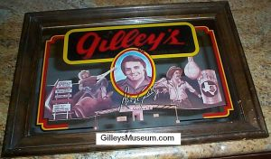 Gilley's Bar Mirror