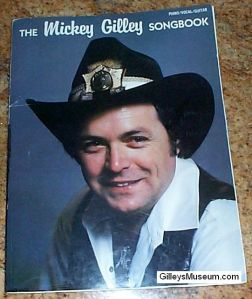 Mickey Gilley Songbook for Piano/Vocal/Guitar